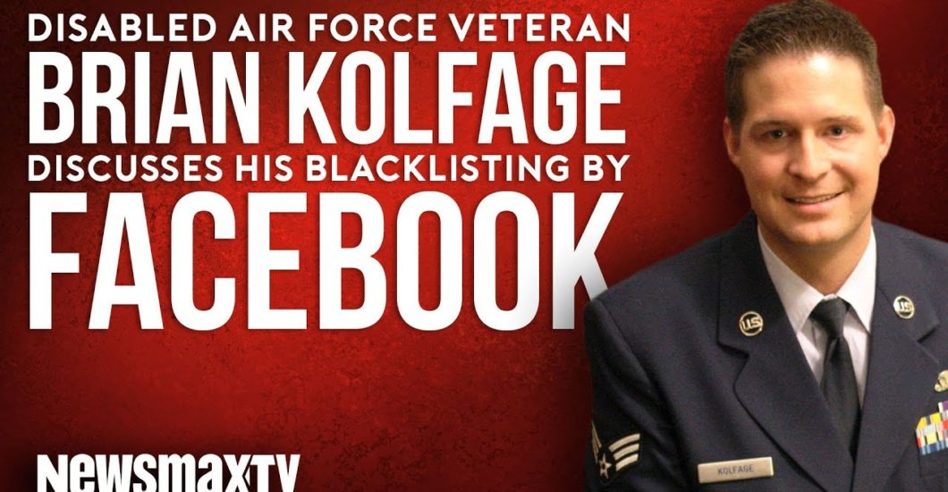 Newsmax: Triple Amputee Veteran Sounds the Alarm on Facebook's Assault on the First Amendment