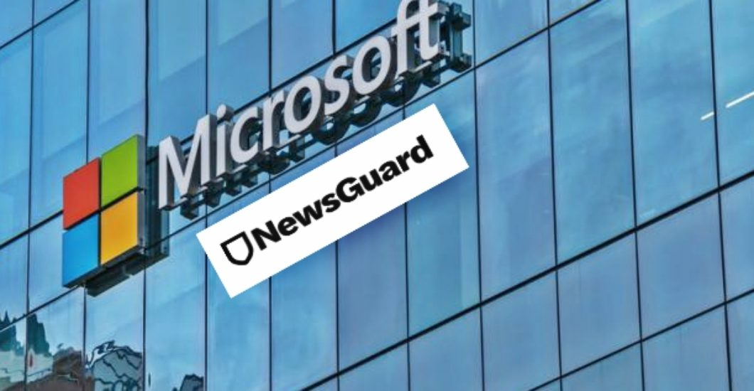 Microsoft's blacklisting tool, NewsGuard admits 'Credible' Labeled News Outlets Guilty of Spreading Fake News
